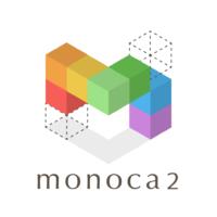 monoca2用アイコン(文字入り白)